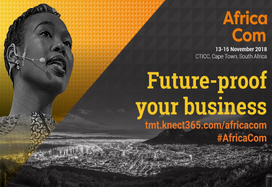AfricaCom is happening for the 21st time in Cape Town.
